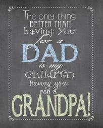 Dad Grandpa Poster Print by Jo Moulton PDXJM10775SMALL
