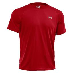 Under Armour 1228539600LG Tech Tee-Shirt, Red - Large 1228539600LG