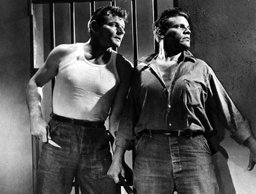 Riot In Cell Block 11 Leo Gordon Neville Brand 1954. Photo Print KUGOZLVAIYMEULFD