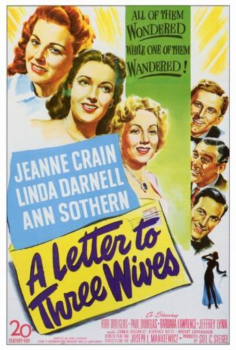 A Letter to Three Wives Movie Poster Print (27 x 40) 737004
