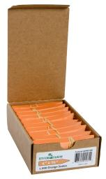 Plant Stake Labels - Colored Plant Stake Labels Orange 4''x5