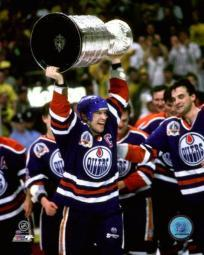 Mark Messier Game 5 1990 Stanley Cup Finals Celebration Photo Print PFSAAJU06201
