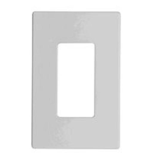 Cooper Wiring 9521ws Aspire 1-gang Screwless Wallplate, White Satin