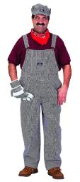 Adult Train Engineer Costume With Cap