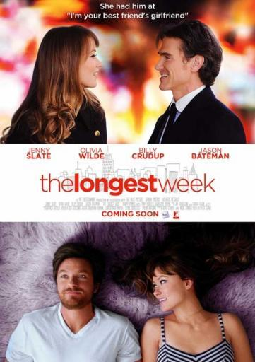 The Longest Week Movie Poster (11 x 17) 9LXDTHQSCMNTX9US