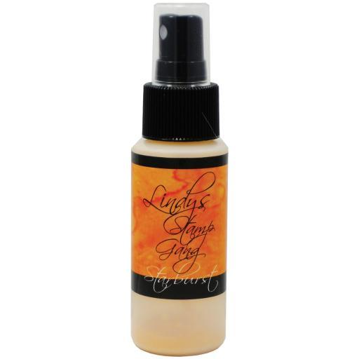 Lindy's Stamp Gang Starburst Spray 2oz Bottle-Marigold Yellow Orange MYEPOGAD8CCFKJJP