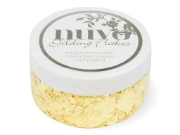 Nuv850n nuvo gilding flakes radiant gold