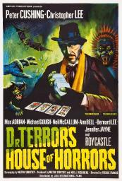 Dr. Terror'S House Of Horrors Peter Cushing On Uk Poster Art 1965. Movie Poster Masterprint EVCMCDDOTEEC035HLARGE