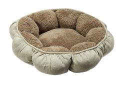 """Doskocil 27459 Puffy Round Cat Bed 18"""", Assorted Color"""