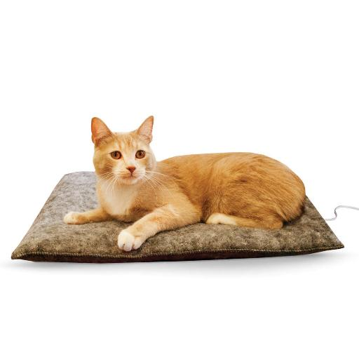 K & H Pet Products 3295 Gray K & H Pet Products Amazin' Thermo-Kitty Pad Gray 15 X 20 X 2 E390917620C4A0E9