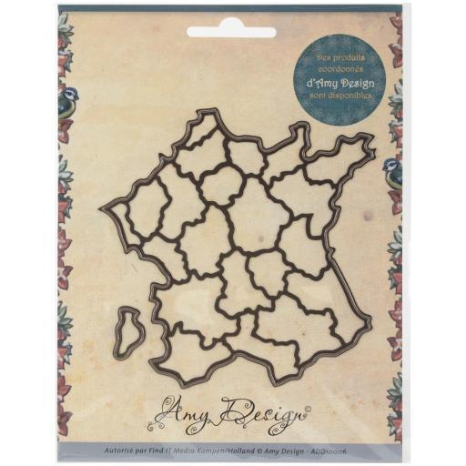 Find It Trading Amy Design Map Die France