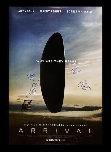Arrival - Signed Movie Poster R2PVZSRYX3VUEL5S