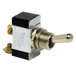Cole Hersee Heavy Duty Toggle Switch Spst On-off 2 Screw