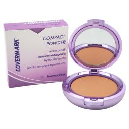 Covermark Compact Powder Waterproof - # 4A - Normal Skin By Covermark For Women - 0.35 Oz Powder  0.35 Oz