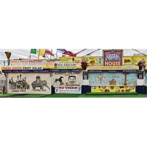 Panoramic Images PPI139954L Old Store Front along Riegelmann Boardwalk Long Island Coney Island New York City New York State USA Poster Print by