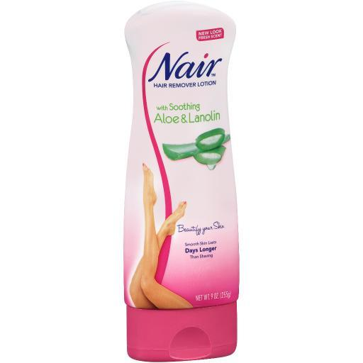 Nair Lotion With Aloe And Lanolin 9 oz Hair Remover Aloe And Lanolin Body Legs 2MGAEFEOJS0AB5M3
