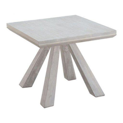 Zuo Modern 100748 Beaumont End Table, Sun Drenched Acacia