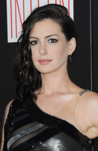 Anne Hathaway At Arrivals For The Intern Premiere, Ziegfeld Theatre, New York, Ny September 21, 2015. Photo By Kristin CallahanEverett Collection.