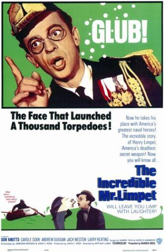 The Incredible Mr Limpet Movie Poster (11 x 17) US0RNFUGE6FDLWO5