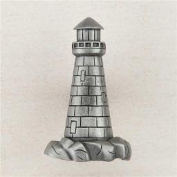 Acorn Manufacturing DP4PP Artisan Collection Lighthouse Knob, Antique Pewter