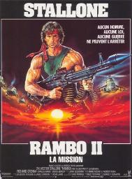 Rambo First Blood Part 2 Movie Poster (11 x 17) MOV379063