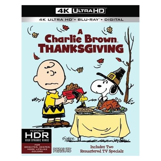 Peanuts-charlie brown thanksgiving (blu-ray/4k-uhd/ultraviolet) K8CZPWFYEWV3CX4W