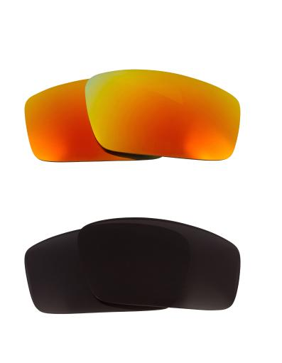Best SEEK Replacement Lenses for Oakley SQUARE WIRE (2006) Black Yellow Mirror