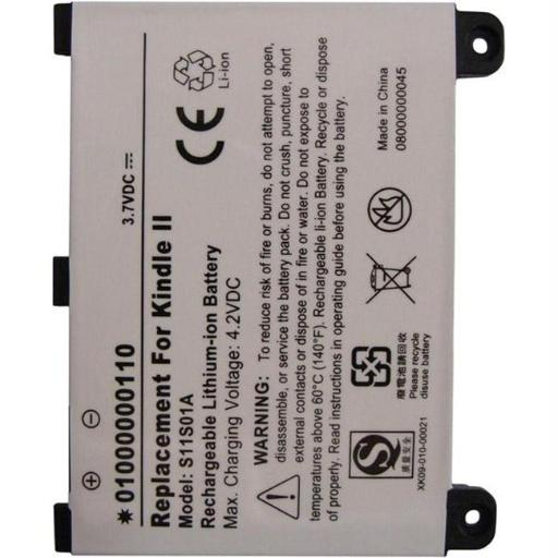 Ultralast Replacement BATTERY For 2nd Generation Kindle eBook Reader