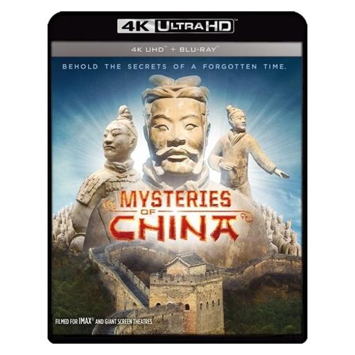 Mysteries of china (blu-ray/4kuhd/ultraviolet/digital hd) (ws/1.78:1/2disc)