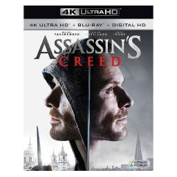 Assassins creed (2016/blu-ray/4k-uhd) BR2334866