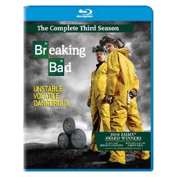 Breaking bad-3rd season (blu-ray/ws/3 disc/1.78/dd 5.1/eng/fren) BR36963