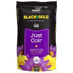 Black Gold Just Coir Loose 2 cu ft (40/Plt)