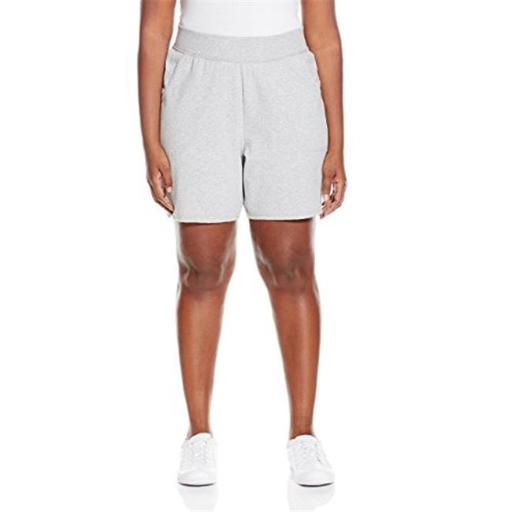 Just My Size 90563204274 Womens Plus Cotton Jersey Pull-On Shorts - Light Steel, 1X H5VVT28EM7OVCC7I