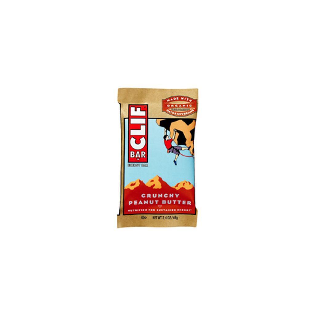Clif 160008 Clif Crunchy Peanut Butter Box/12