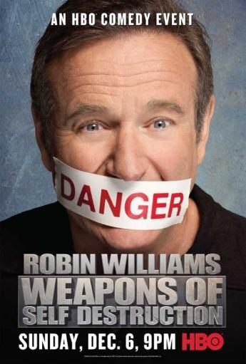 Robin Williams Weapons of Self Destruction Movie Poster (11 x 17)