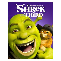 Shrek the third (blu ray/dvd/2 disc combo) BR101207