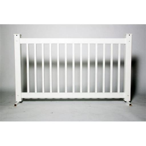Traditional Fence Panel, Aluminum - 42 in. x 6 ft.