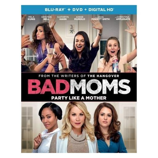 Bad moms (blu ray/dvd w/digital hd/uv) FW9EIVXBG72S1BDL