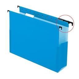 """Pendaflex 59202 SureHook Reinforced Hanging Box Files, 2"""" Exp with Sides, Letter, Blue (Box of 25)"""