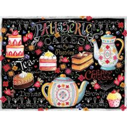 Ceaco Let's Chalk - Tea and Cakes Puzzle