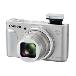 Canon Cameras US 1792C001Canon PowerShot SX730 Digital Camera w40x Optical Zoom & 3 Inch Tilt LCD - Wi-Fi NFC Bluetooth Enabled (Silver) 630 Inch x 580 Inch x 270 Inch
