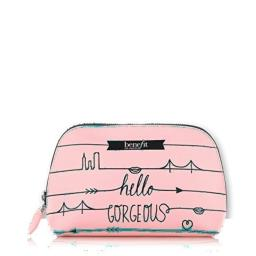 Benefit Cosmetics Hello Gorgeous Pink Makeup Bag