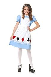 charades Storybook Alice childrens costume, Small