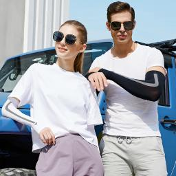 2 Pairs UV Protection Cooling Arm Sleeves