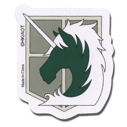 Sticker - Attack on Titan - New Military Police Regiment Anime Toys ge55296 by Animewild