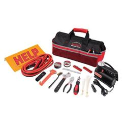 Apollo Tools 53 Piece Roadside/Emergency Tool Kit with Air Compressor