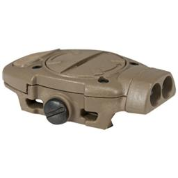 Mission First Tactical TBLIRSDE Torch Back Up Picatinny Red Dark Earth Mounted IR Light