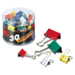 OIC(R) Assorted Binder Clips, Pack Of 30