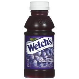Welch's Grape Juice Cocktail, 10 oz - Pk of 24
