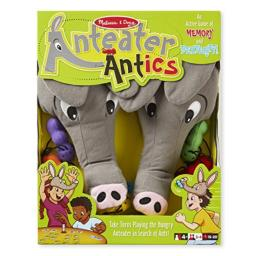 Melissa & Doug Anteater Antics Action Game With 2 Plush Hats